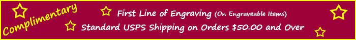 Shipping/Engraving Bonus